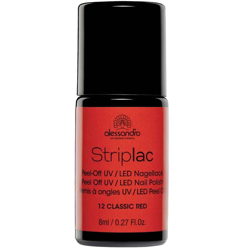 alessandro International Striplac 12 Classic Red 8 ml