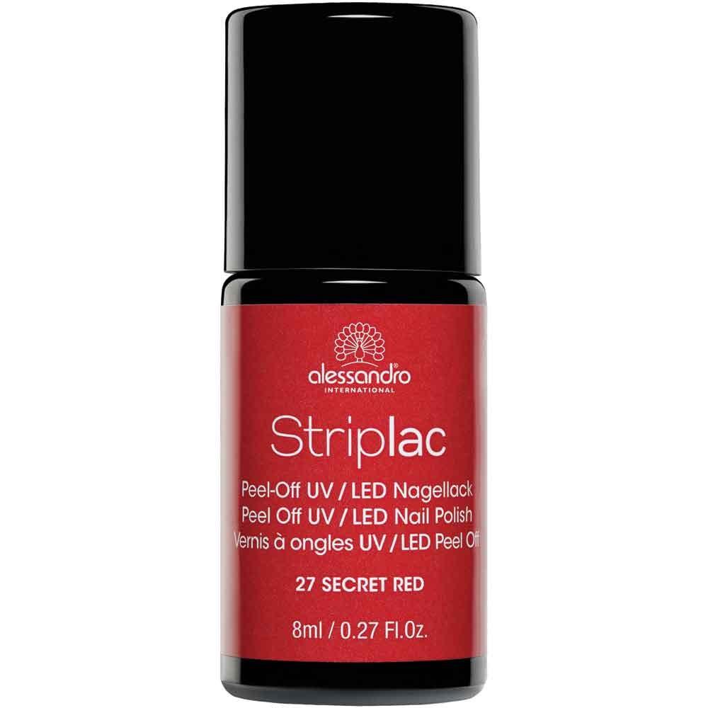 alessandro International Striplac 27 Secret Red 8 ml