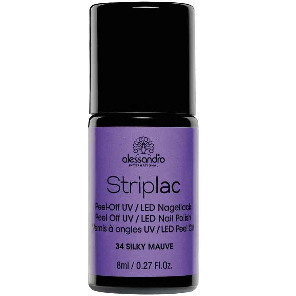 alessandro International Striplac 34 Silky Mauve 8 ml