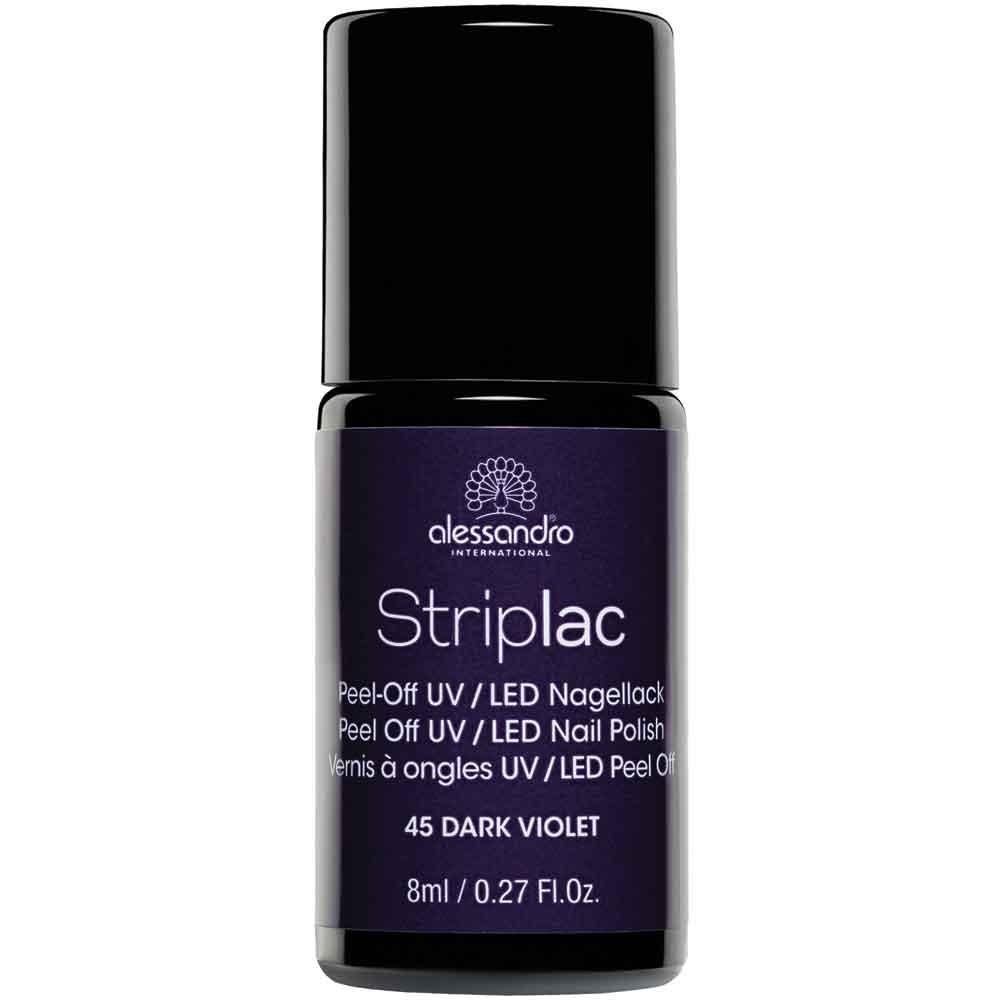 alessandro International Striplac 45 Dark Violet 8 ml