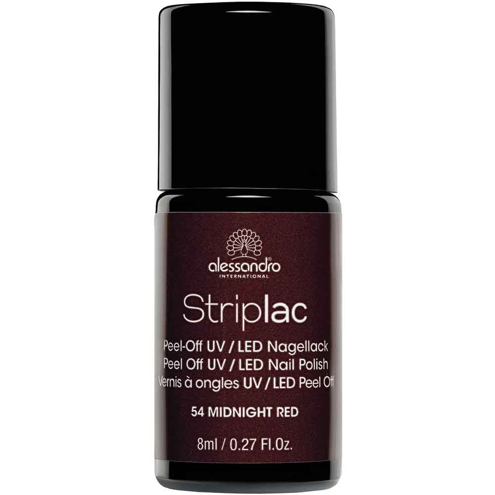 alessandro International Striplac 54 Midnight Red 8 ml