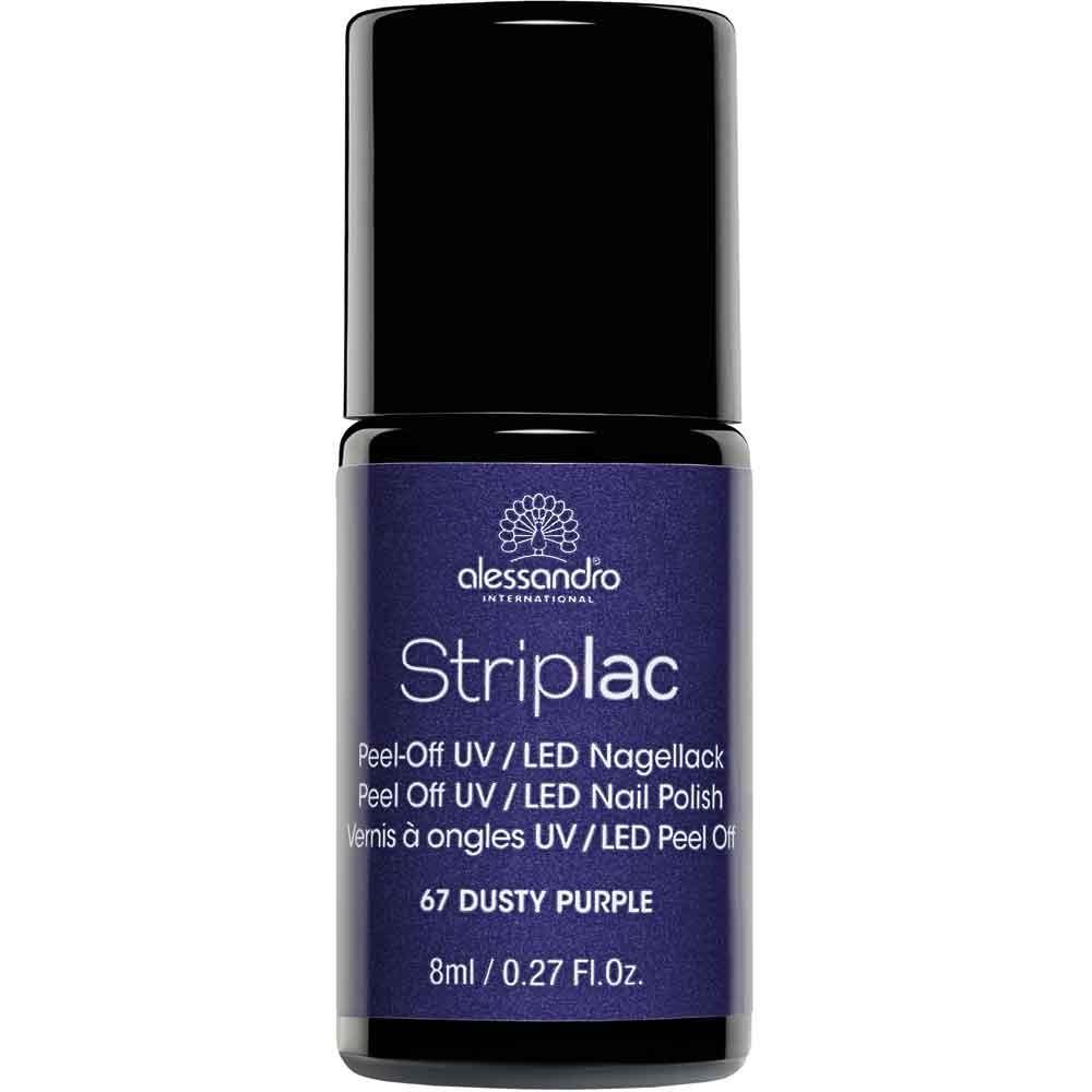 alessandro International Striplac 67 Dusty Purple 8 ml