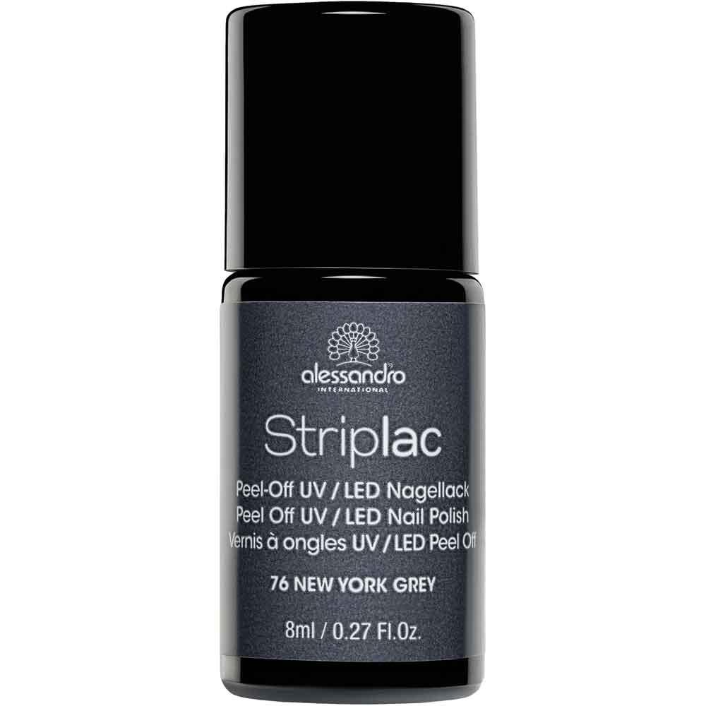alessandro International Striplac 76 New York Grey 8 ml
