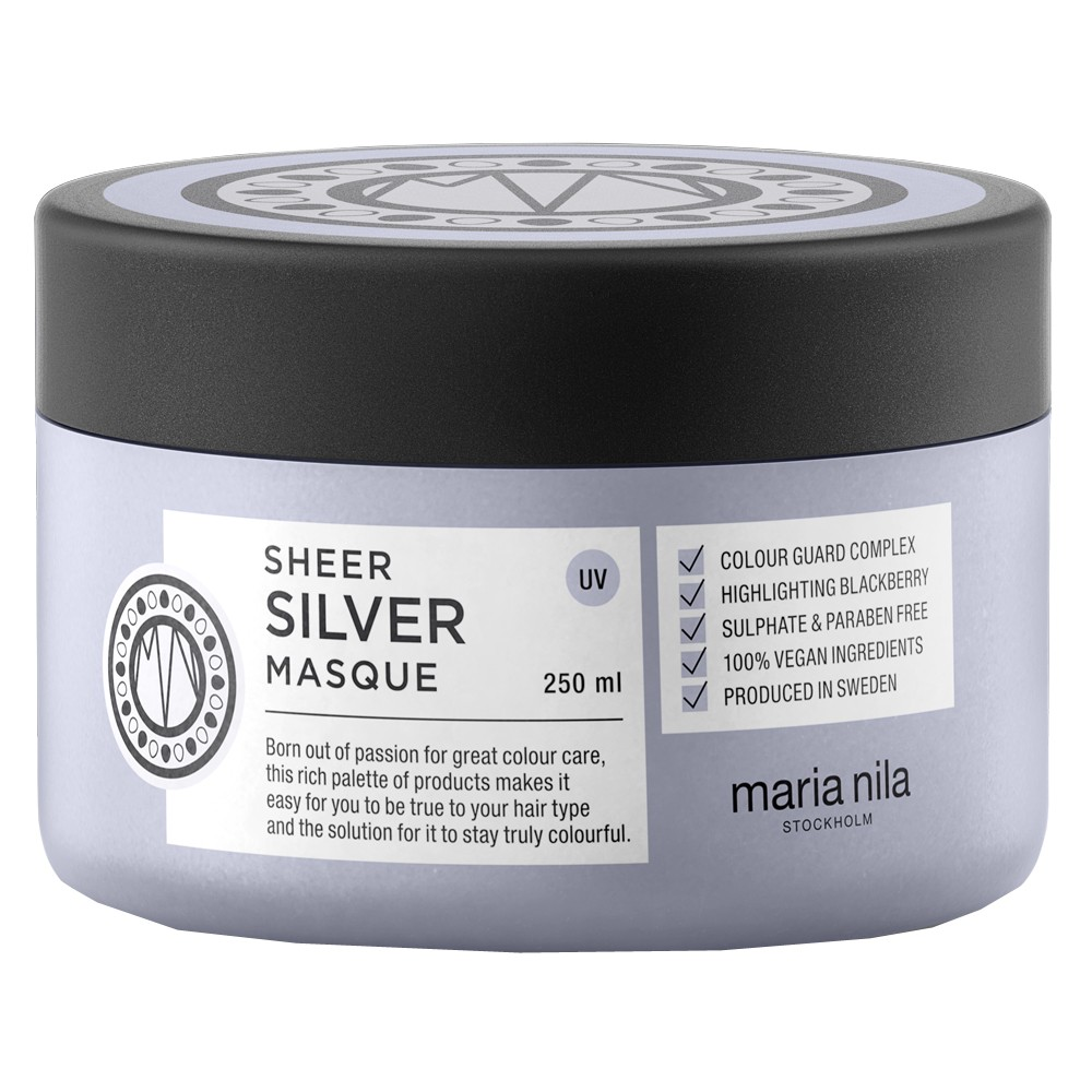 Maria Nila Sheer Silver Maske 250 ml