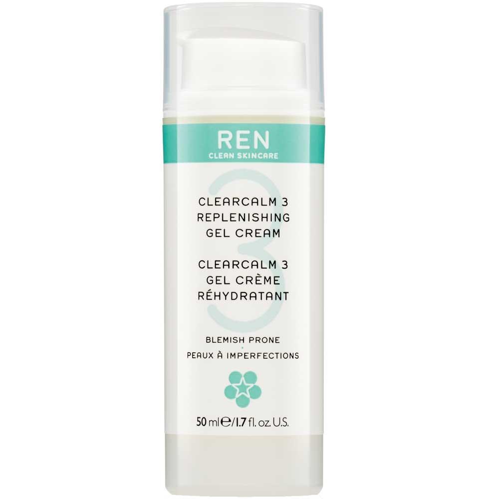 REN Clearcalm3 Repleneshing Gel Cream 50 ml