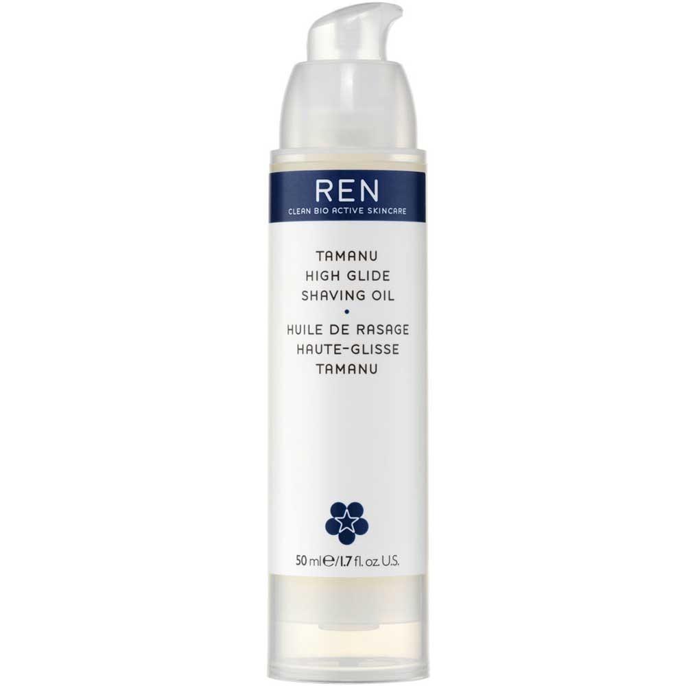 REN Tamanu High Glide Shaving Oil 50 ml