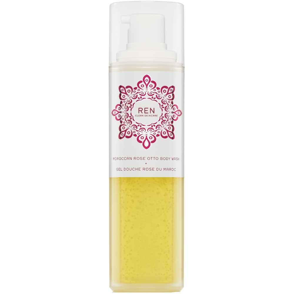 REN Moroccan Rose Otto Sugar Body Wash 200 ml
