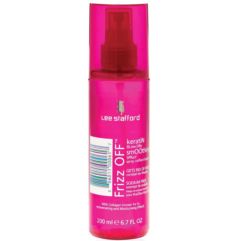 Lee Stafford Frizz Off Keratin Blow Dry Smoothing Spray 200 ml