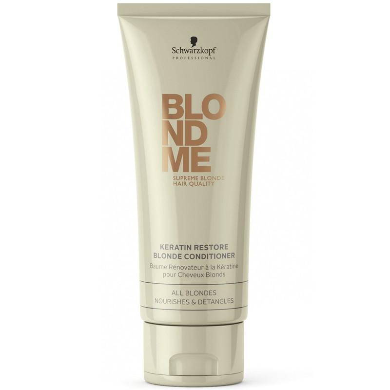 Schwarzkopf Blondme Keratin Restore Blonde Conditioner 200 ml
