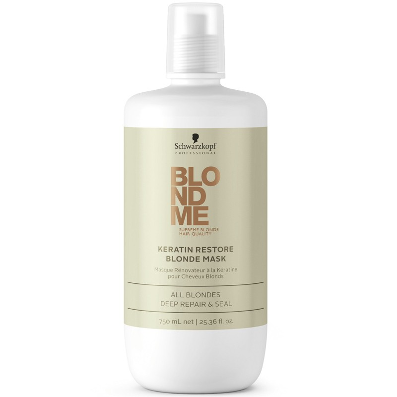 Schwarzkopf Blondme Keratin Restore Blonde Treatment 750 ml