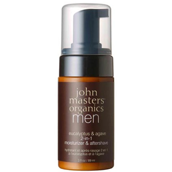 john masters Organics Eucalyptus & Agave 2 in 1 moisturizer & aftershave 89 ml