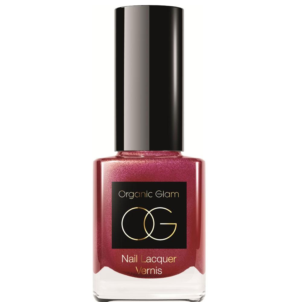 Organic Glam Venus Red Glitter 11 ml