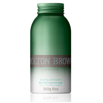 Molton Brown MEN bracing silverbirch thermal muscle soak 300 g