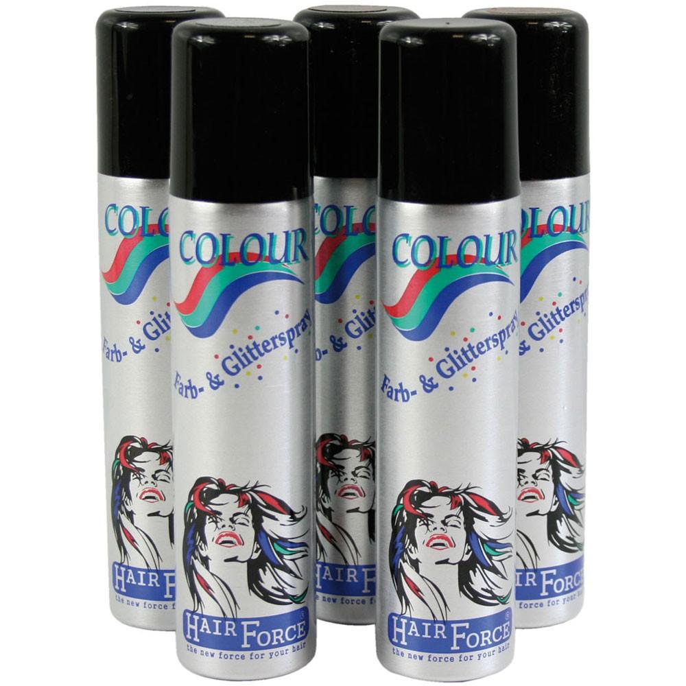 Hairforce Color Glitterspray grün 75 ml