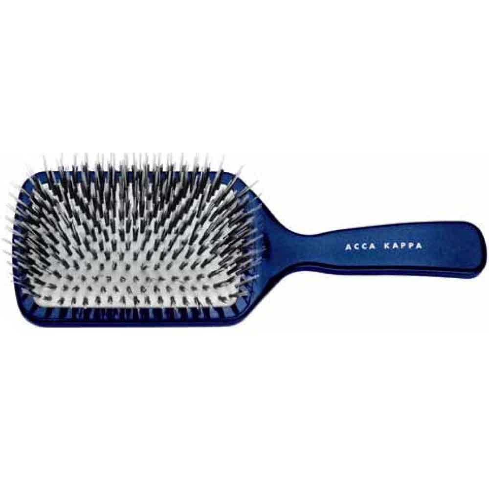 Acca Kappa Hair Extension Pneumatic Paddle Brush blau 24,5 cm