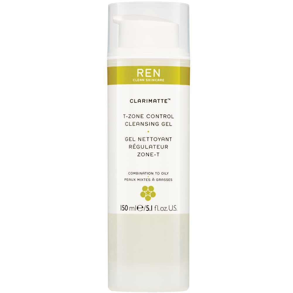 REN Clarimatte T-Zone Control Cleansing Gel 150 ml