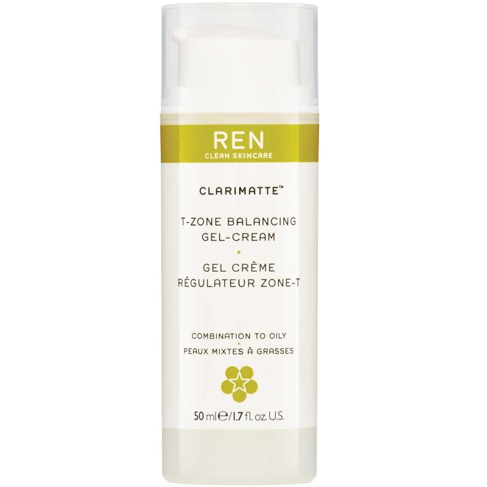 REN Clarimatte T-Zone Balancing Gel Cream 50 ml