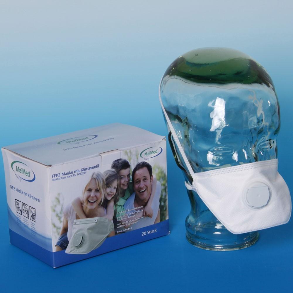 MaiMed family Schutzmaske FFP 2 weiß gefaltet 20 Stück