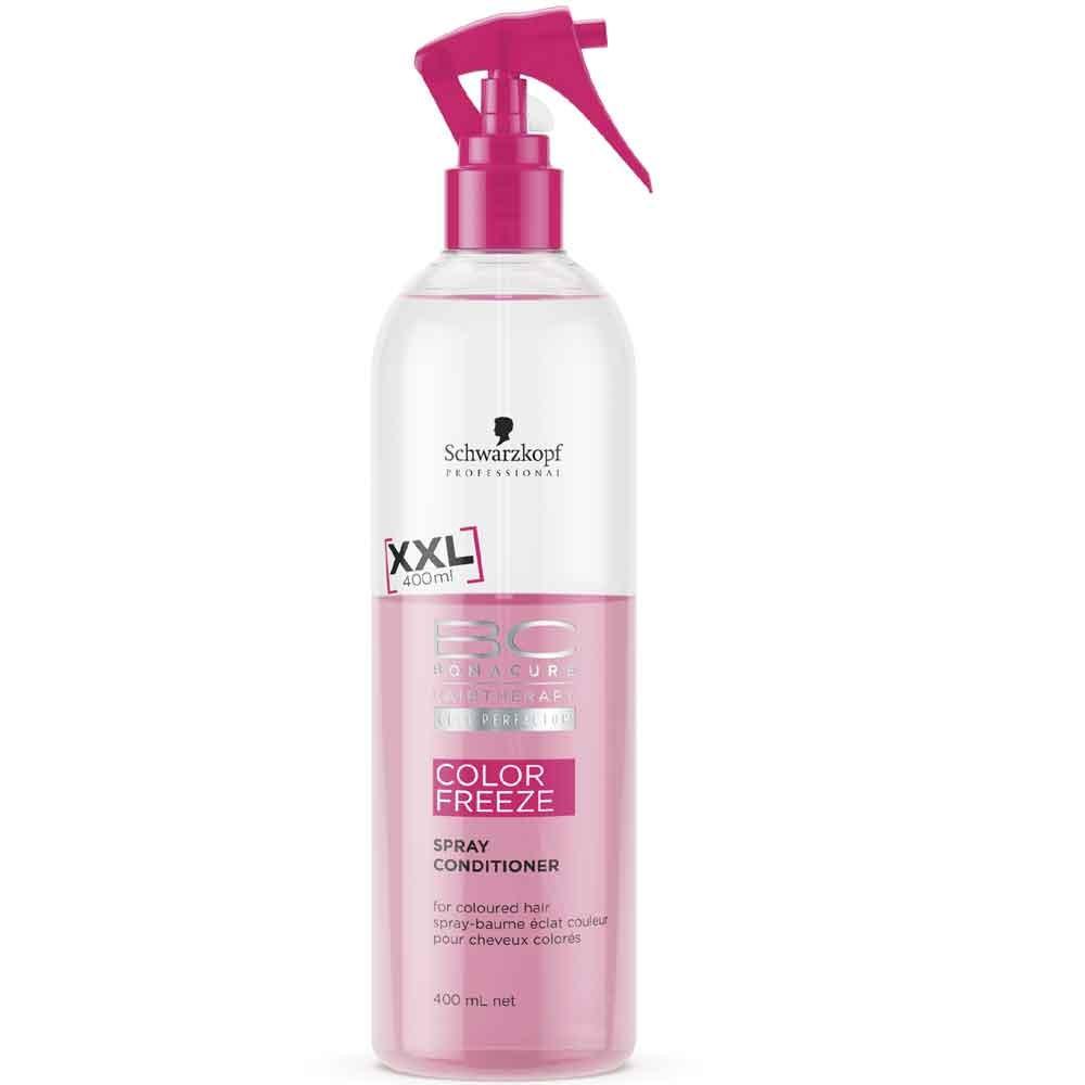 Schwarzkopf BC Bonacure Color Freeze Farbschutz Spray Conditioner 400 ml Sondergröße