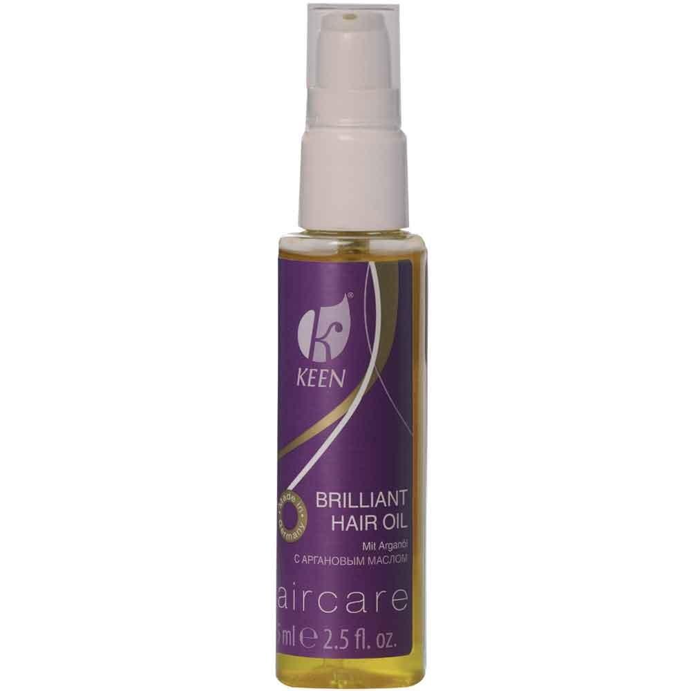KEEN Brilliant Hair Oil mit Arganöl 75 ml