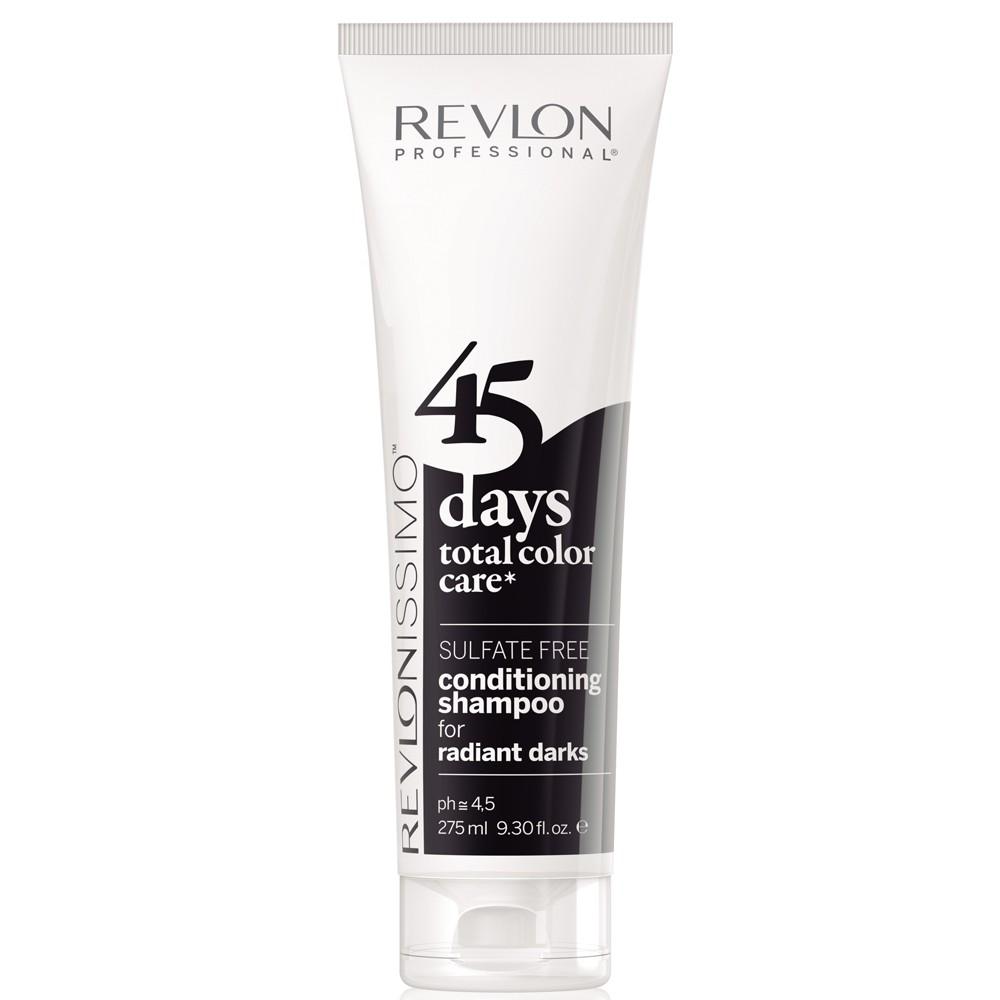 Revlon Revlonissimo 45 Days Radiant Darks 2 in 1 Shampoo & Conditioner 275 ml