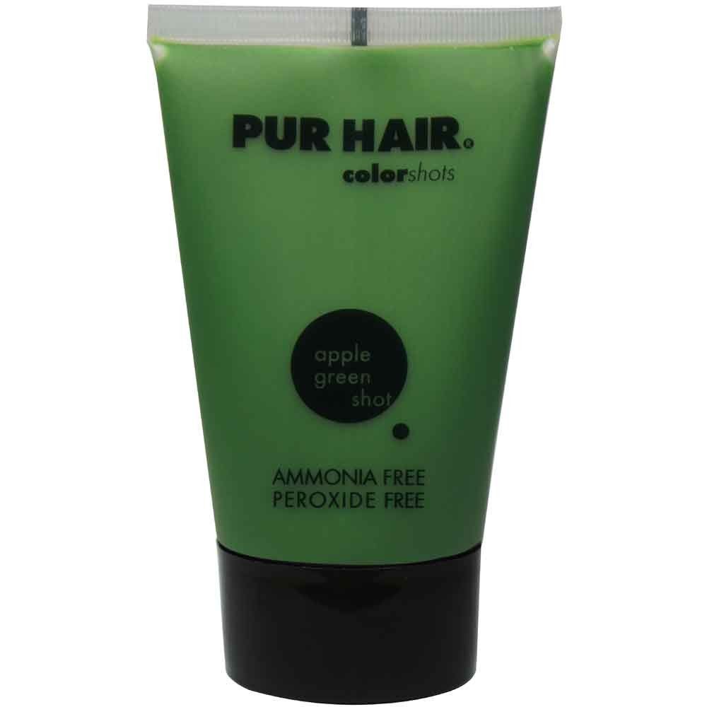 PUR HAIR. Color Shots apple green 100 ml