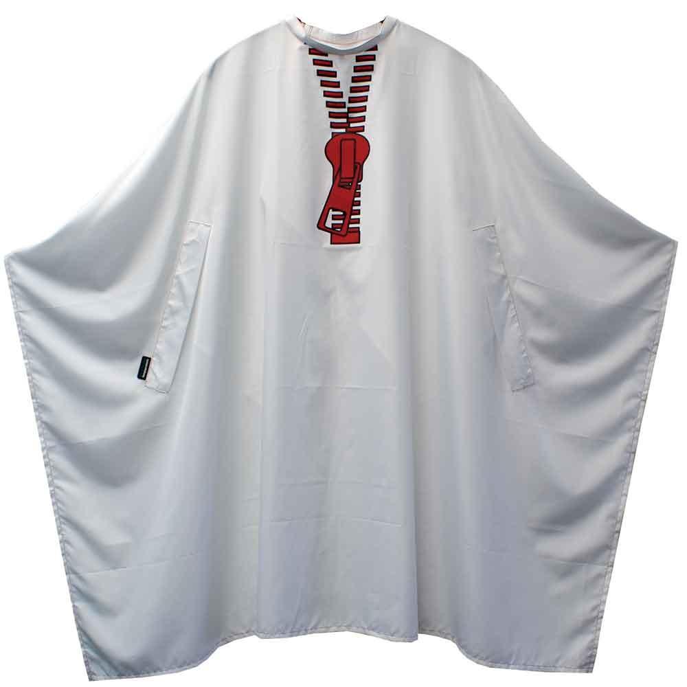 TREND DESIGN Zipper Schneideumhang Weiß