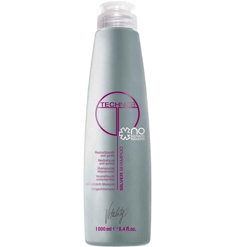 Vitality's Technica Silber Shampoo 1000 ml