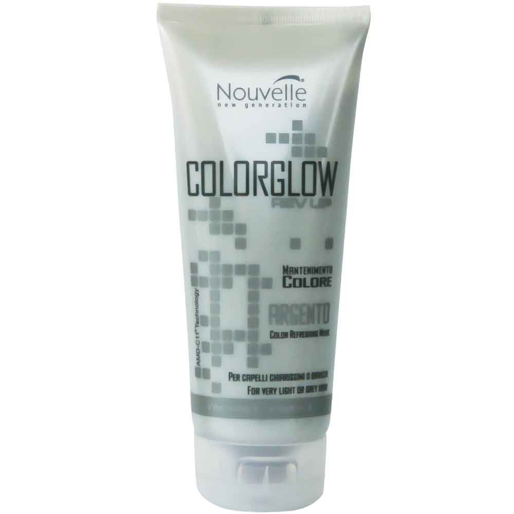 Nouvelle COLOR GLOW REV UP Silber Farbkur 200 ml