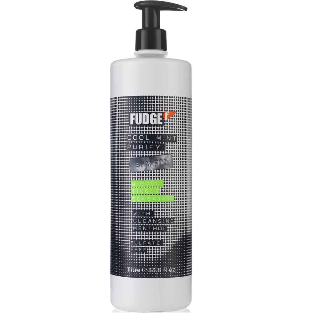 Fudge Cool Mint Purify Shampoo 1000 ml