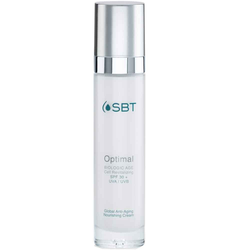 SBT Optimal Global Anti-Aging Nourishing Cream SPF 30+ UVA/UVB 50 ml