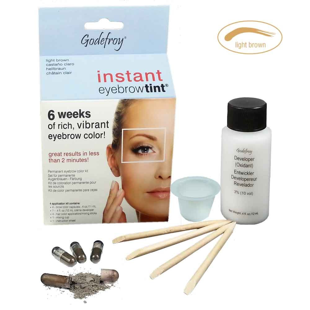 GODEFROY Instant Eyebrow Tint Hellbraun