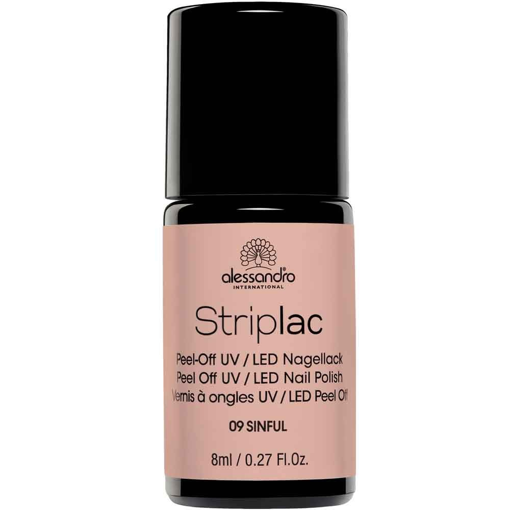 alessandro International Striplac 09 Sinful 8 ml