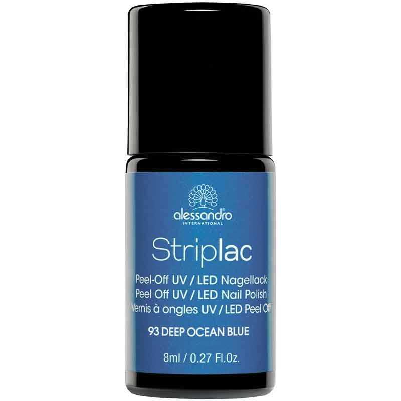 alessandro International Striplac 93 Deep Ocean Blue 8 ml