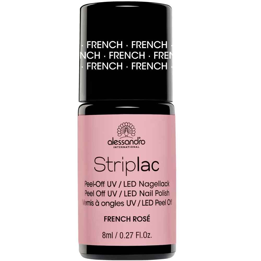 alessandro International Striplac French Rosa 8 ml