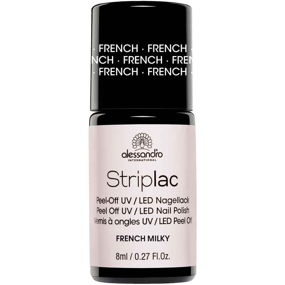 alessandro International Striplac French Milky 8 ml