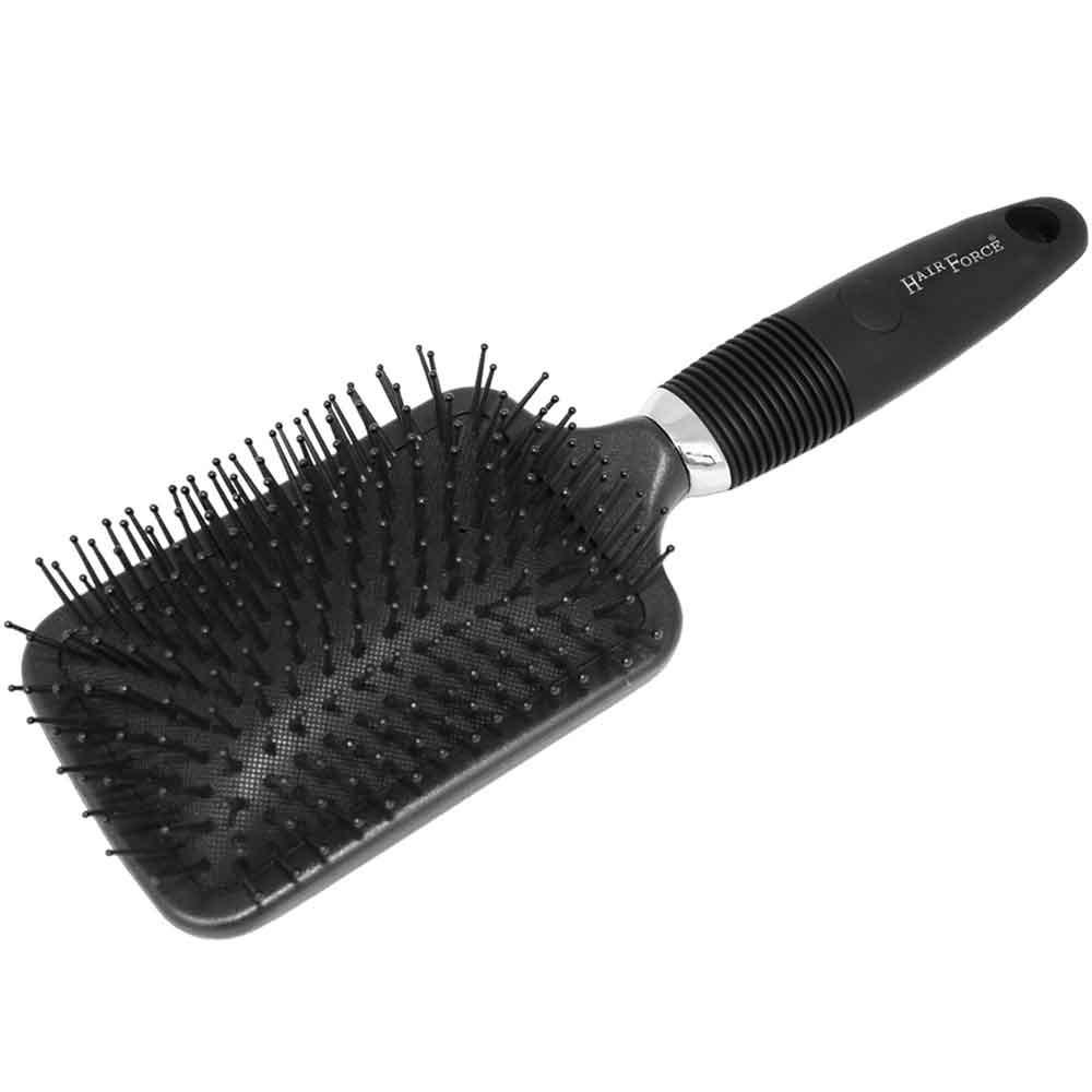 Hairforce Fönbrettbürste schwarz mit Ring