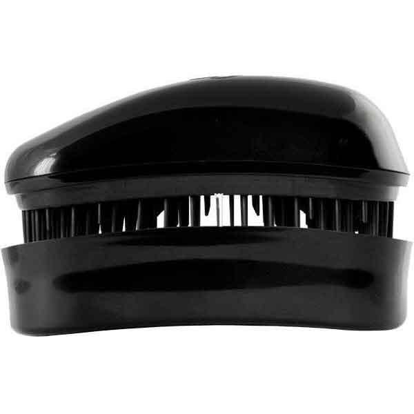 Dessata Entwirrungs-Taschenbürste schwarz/schwarz