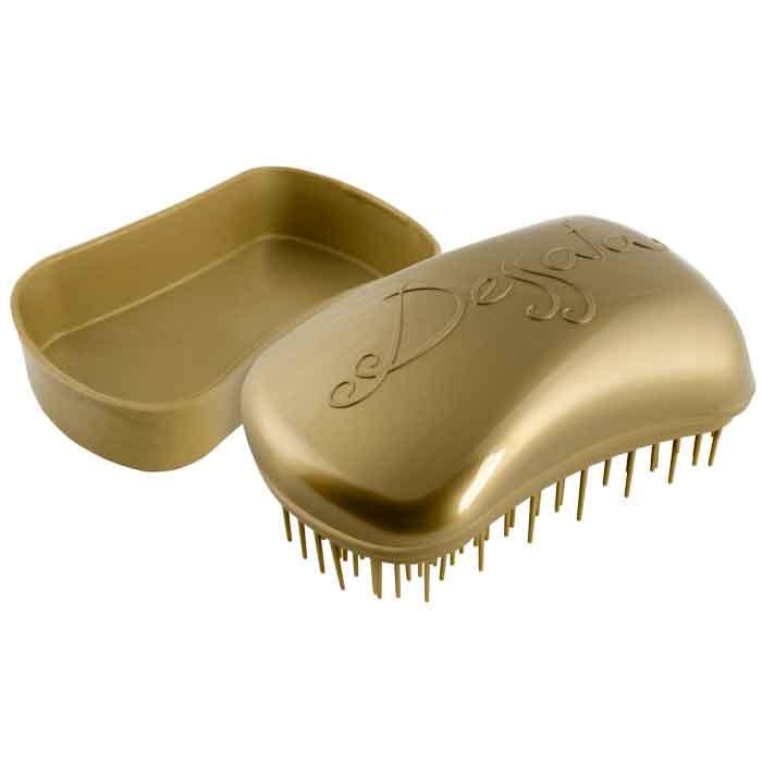 Dessata Entwirrungs-Taschenbürste old gold