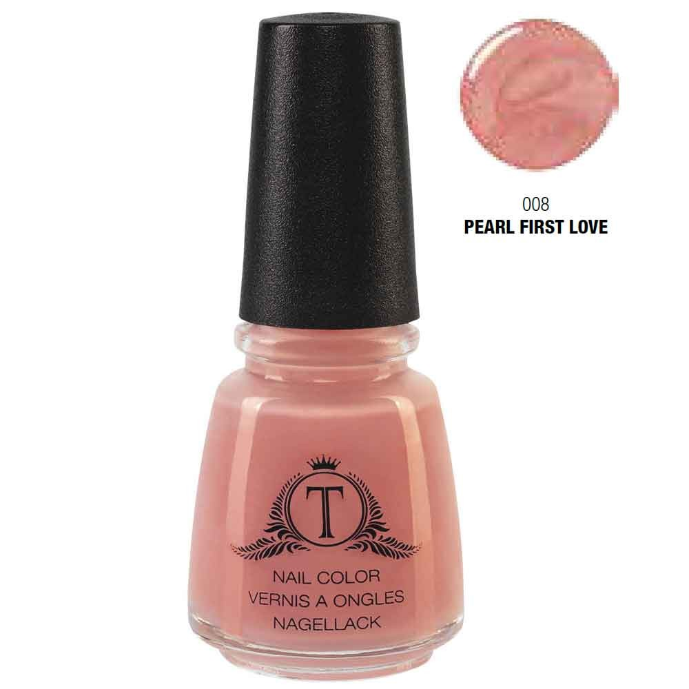 Trosani Topshine Nagellack 008 Pearl First Love 17 ml