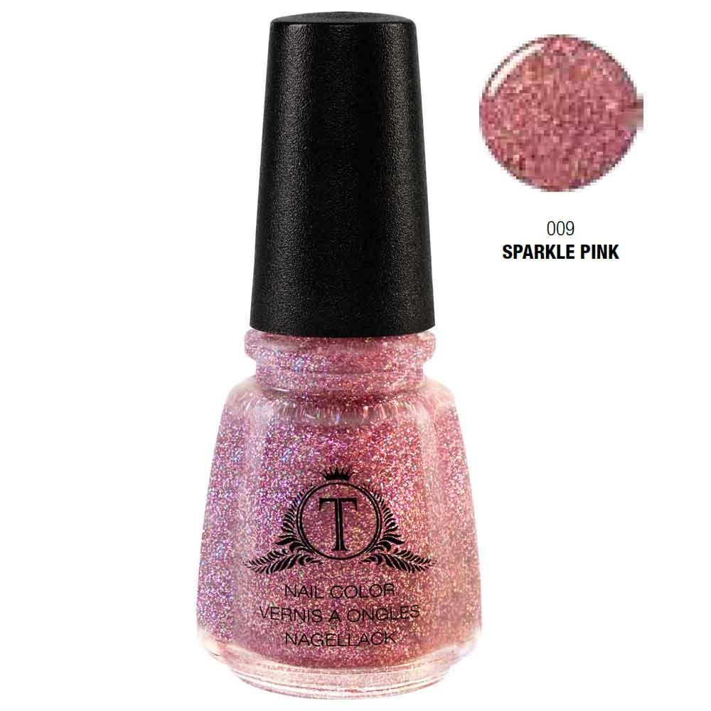 Trosani Topshine Nagellack 009 Sparkle Pink 17 ml