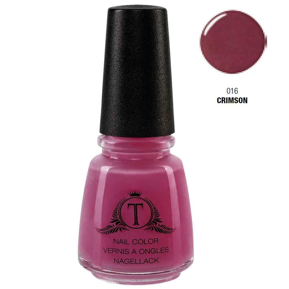 Trosani Topshine Nagellack 016 Crimson 17 ml