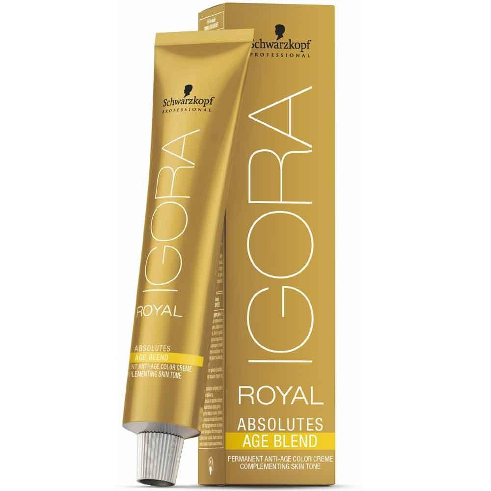 Schwarzkopf Igora Royal Absolutes Age Blend 7-450 Mittelblond Beige Gold 60 ml