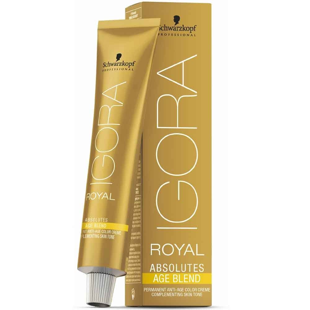 Schwarzkopf Igora Royal Absolutes Age Blend 8-07 Hellblond Natur Kupfer 60 ml
