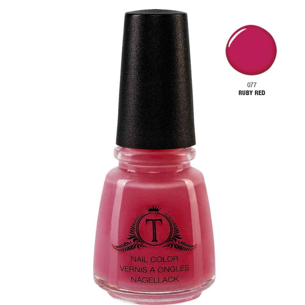 Trosani Topshine Nagellack 077 Ruby Red 17 ml