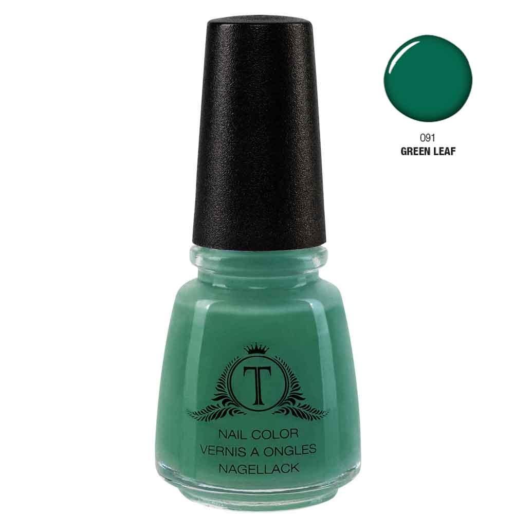 Trosani Topshine Nagellack 091 Green Leaf 17 ml
