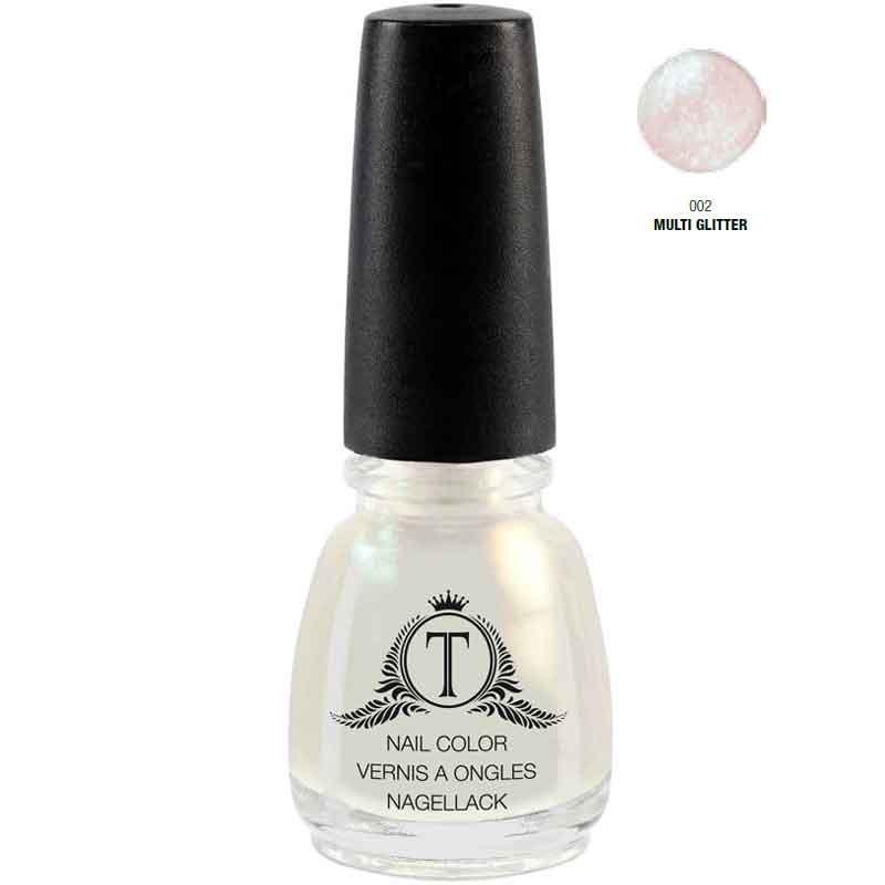 Trosani Topshine Nagellack 002 Multi Glitter 5 ml