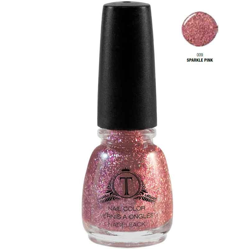 Trosani Topshine Nagellack 009 Sparkle Pink 5 ml