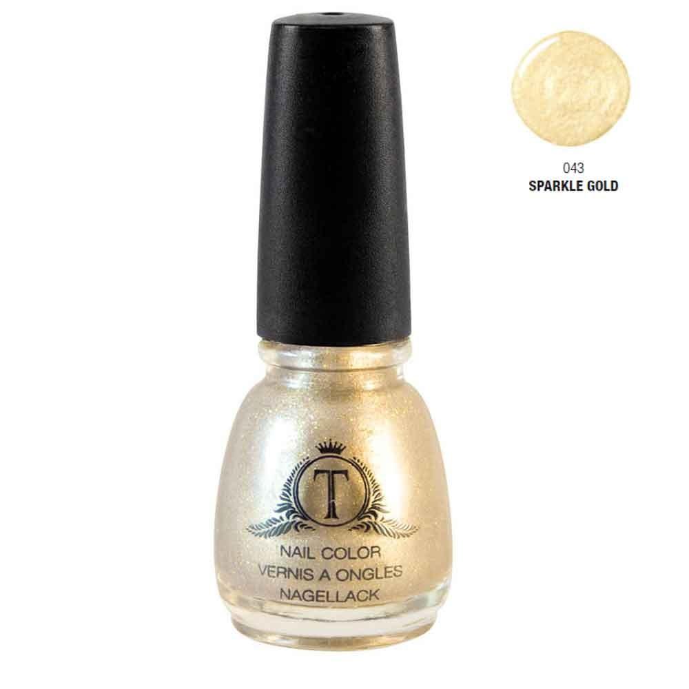 Trosani Topshine Nagellack 043 Sparkle Gold 5 ml