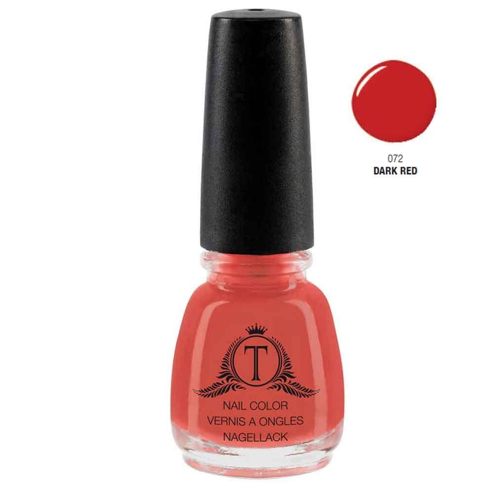Trosani Topshine Nagellack 072 Dark Red 5 ml